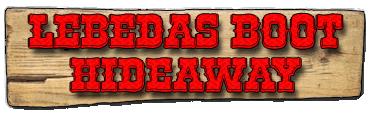 Lebedas Boots Hideaway